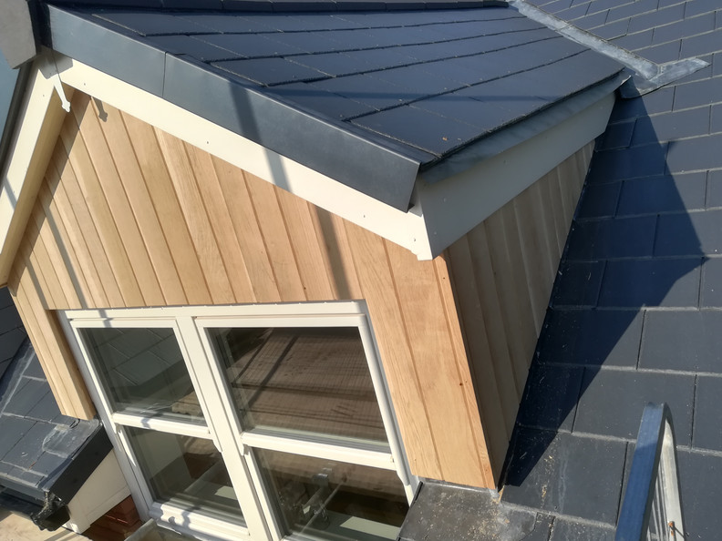 Bespoke Window Oak Cladding