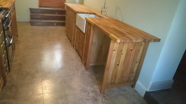 Bespoke Handmade Wooden Kitchen