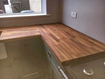 Handmade Kitchen & Wooden Worktop