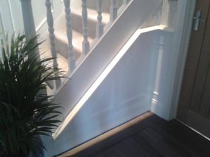 Bespoke Stairway Panelling