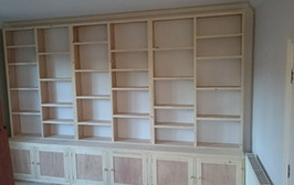 Bespoke Bookcase & Storage