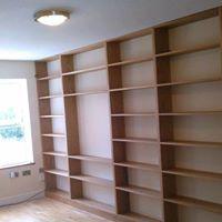 TV & Bookcase Unit