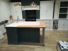 Bespoke Kitchen Units with Center Island