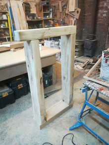 Handmade Oak Porch
