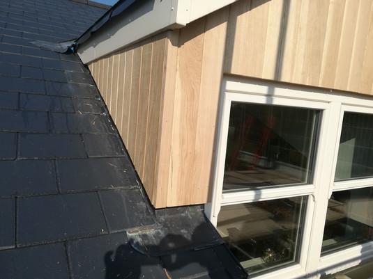 Window Oak Cladding