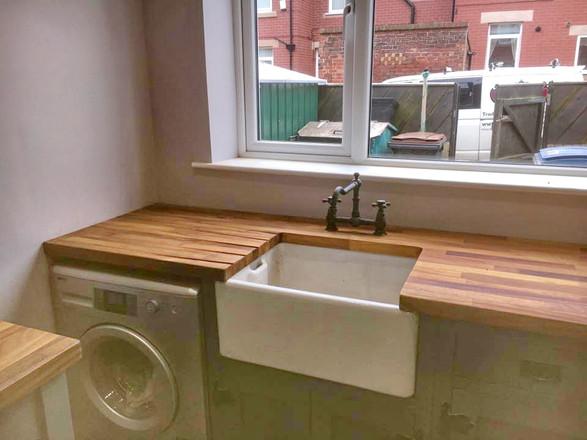 Handmade Bespoke Painted Kitchen