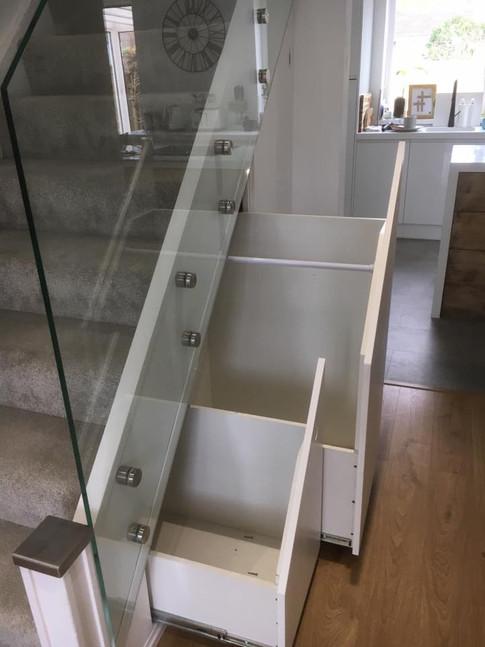 Bespoke Understairs Storage
