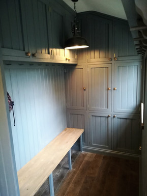 Bespoke Painted Boot Room