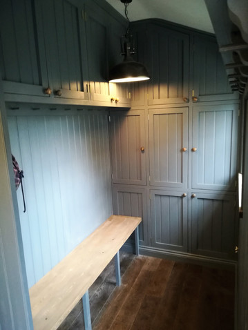 Bespoke Painted Boot Room