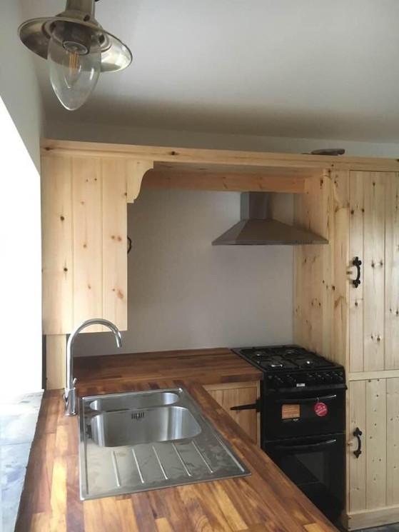 Handmade Bespoke Wooden Kichen