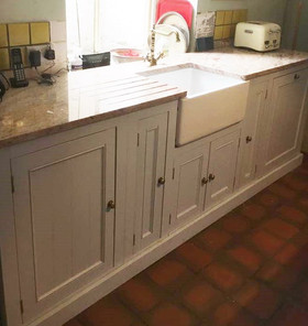 Bespoke Sink Unit & Marble Worktop