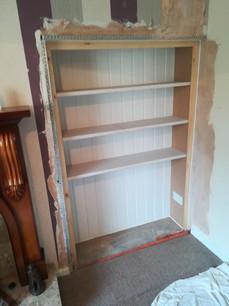 Bespoke Alcove Bookcase