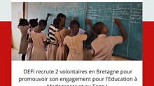 Rejoignez DEFI en Service Civique !!