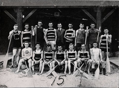 1915 CDN CHAMPS WAR CANOE TEAM 4