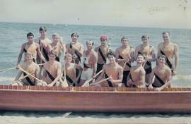 1968 JUV WAR CANOE CCA 1st