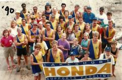 1990 PADDLING CREW