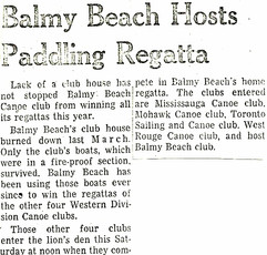 1963 BBC REGATTA NO CLUBHOUSE