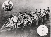 1947 SR WAR CANOE MILE DOMINION CHAMPS 1
