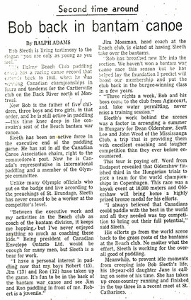 1964c BOB SLEETH RETURNS