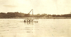 1924 C4 PORTER'S CREW 1st CCA REGATTA