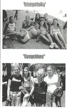 2003 REGATTA PROGRAMME