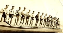 1935 WAR CANOE BBC  MALVERN _ HUMBER