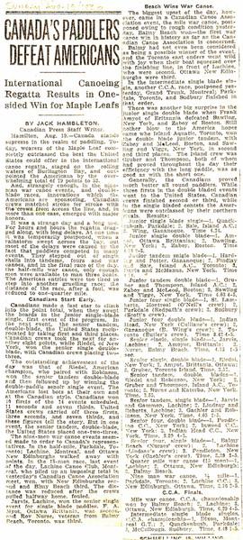 1930 8AUG 13 CANADA DEFEATS USA _ HAMILT