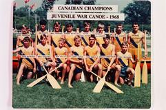 1968 JUV WAR CANOE CCA 1st NAMES