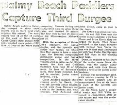 1963c BBC WIN _ WEST ROUGE, 3rd BURGEE