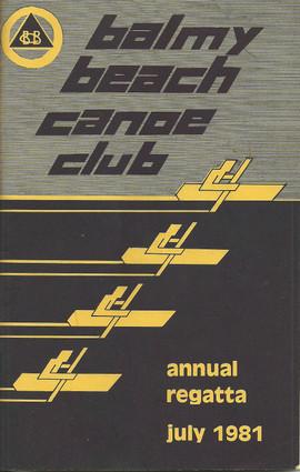 1981 REGATTA PROGRAMME