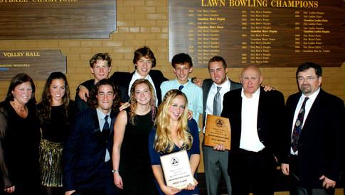 2014 Balmy Beach Sport Section Awards Ni