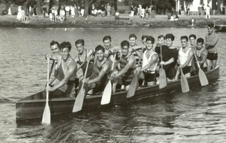 1936 SR WAR CANOE MILE DOMINION CHAMPION