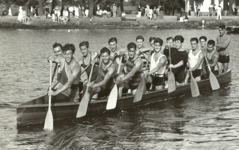 1936 SR WAR CANOE MILE DOMINION CHAMPION
