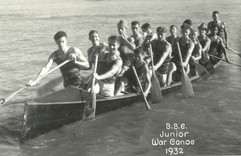 1932 JR WAR CANOE WATER