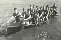 1932 JR WAR CANOE WATER
