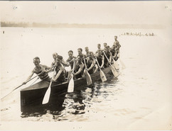1930 DOMINION CHAMPS SR WAR CANOE MILE