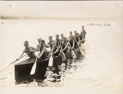 1930 DOMINION CHAMPS SR WAR CANOE MILE