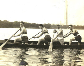 1923 J CARTHY, R NURSE, A IRELAND, G THO