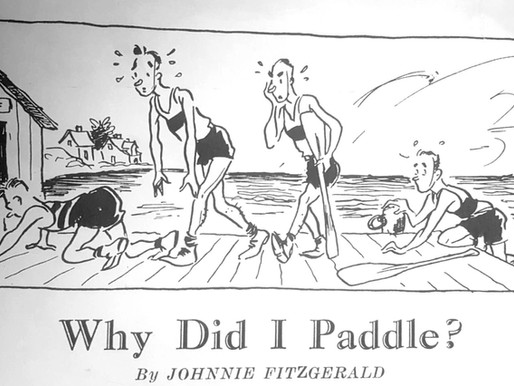 Why Did I Paddle? - Johnnie Fitzerald, 1930