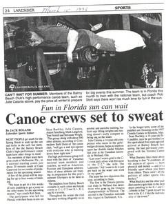 1996 3MAR FLORIDA TRAINING