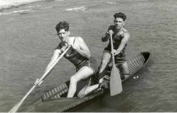 1929 INT TANDEM F LOWRY, E EVANS DOMINIO