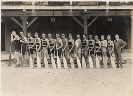 1915 CDN CHAMPS WAR CANOE TEAM
