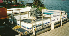 2000 Pontoon Coach Boat