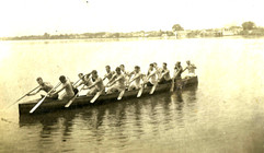 1912c WAR CANOE