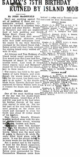 1980 BBC 2nd _ BALMY REGATTA