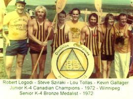 1972 JR K4 WINNERS ROBERT LOGDI, STEVE S