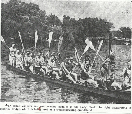 1948 WAR CANOE @ LONG OND CENTRE ISLAND