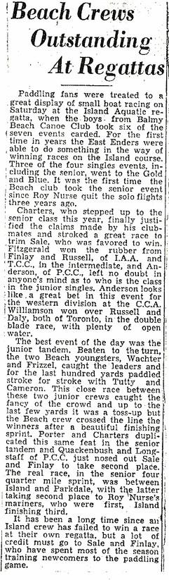 19355c BEACH CREWS OUTSTANDING _ REGATTA