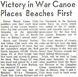 1963 WIN 6th LOCAL REGATTA