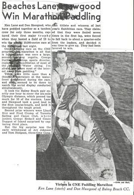 1934C KEN LANE DON HAWGOOD WIN 10K M _ C